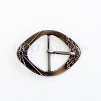 Пряжка декоративная металлическая арт.НР-5935